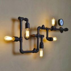 Творческая мастерская по созданию светильника в стиле Лофт