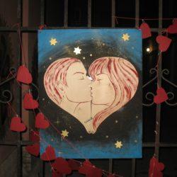 «Механика валентинки» — арт-акция 14 февраля